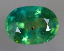 1.21Ct Natural Heated Only Siamese Bluish Green Sapphire