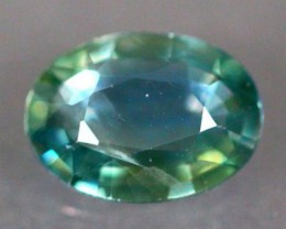 1.10Ct Natural Heated Only Siamese Greenish Blue Sapphire