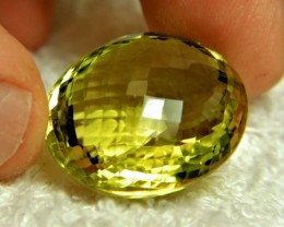57.5 Carat Flashy, African Lemon Quartz - Gorgeous