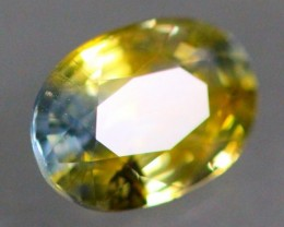 1.07Ct Natural Heated Only African Greenish Yellow Sapphire