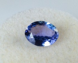 1.73 Carat Oval Cut Tanzanite