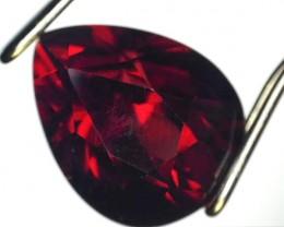 3.43 ct Garnet - Pear Cut Rhodolite