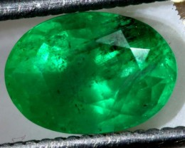 2 CTS  AFGHANISTAN EMERALD FACETED  TBM-1050