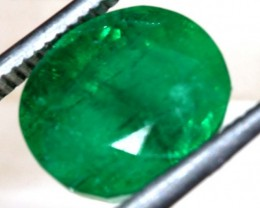 4.5 CTS  AFGHANISTAN EMERALD  FACETED  TBM-1053