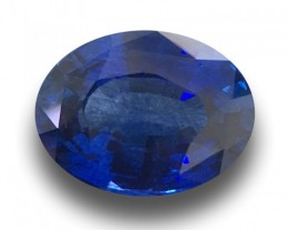 3.1 CTS | Natural Blue sapphire |Loose Gemstone|New| Sri Lanka