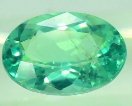 GiL Certified 1.14 ct Natural Apatite from Nigeria