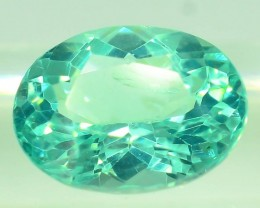 GiL Certified 1.25 ct Natural Apatite from Nigeria