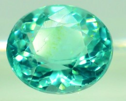 GiL Certified 1.05 ct Natural Apatite from Nigeria