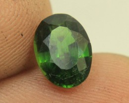 Wow Very Beautiful Chrome Tourmaline From Afghanistan Collector's Gem
