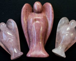 Three beautiful gemstone  holistic angels PPP1188