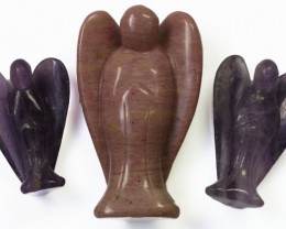 Three beautiful gemstone  holistic angels PPP1189