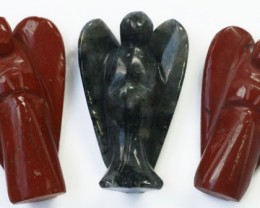 Three beautiful gemstone  holistic angels PPP1192