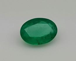 Natural Zambian Emerald Faceted Cut Gemstone