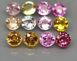 Natural Fancy color Sapphire - 4,58 carats - Wholesale Lot