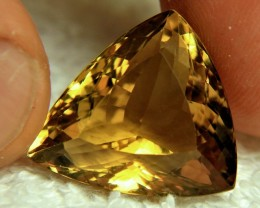 25.05 Carat VVS Trillion Cut Quartz - Gorgeous
