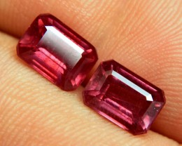 6.73 Tcw. Matched, Fiery Rubies - Superb