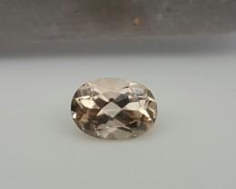 Natural Morganite Faceted Cut Gemstone