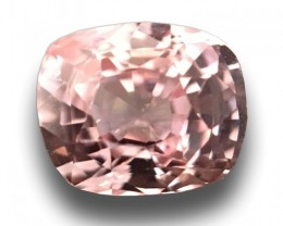 1.06 Carats Natural Pink Orange Sapphire |Loose Gemstone|New Certified| Sri