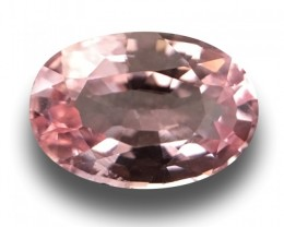 1.49 Carats |  Natural Unheated Pink Orange Sapphire| Loose Gemstone | Sri