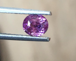 1.05 Carats   Natural Unhetared Purple Sapphire  Loose Gemstone   Sri Lanka