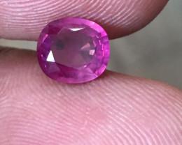 1.09 CTS   Natural Purple Sapphire   Loose Gemstone   Sri Lanka - New