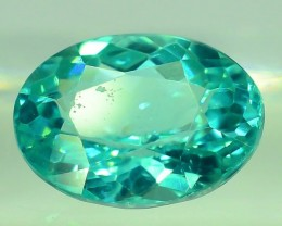 GiL Certified 0.98 ct Natural Apatite from Nigeria