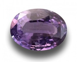 1.59 CTS | Natural Purple sapphire |Loose Gemstone|New| Sri Lanka