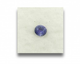 1.11 Carats | Natural Unheated Violet Sapphire | Loose Gemstone | Sri Lanka
