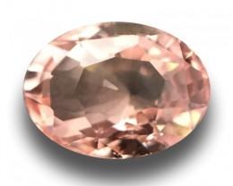 1.05 Carats| Natural  padparadscha |Loose Gemstone| Sri Lanka-New