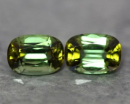Unique Natural Bi Colour Pair Tourmaline, Excellent Cutting