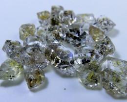 Rare Hydro Petrolium Diamond Quartz Lot From Pakistan Collector's Gem