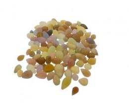 696 cts 111 beads Mixed Chalcedony Bead Lot