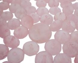 803.5 cts 382 beads Rose Quartz Bead Lot