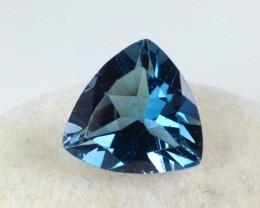 2.53 ct Topaz - Trillion Cut London Blue