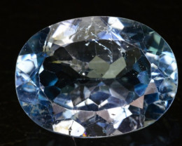 14.20 CT NATURAL BLUE TOPAZ GEMSTONE FROM AFGHANISTAN