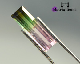 2.40 ct Top Quality Untreated Bi-color Tourmaline~