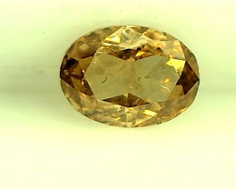 0.27ct Fancy brown Orange Diamond, 100% Natural Untreated