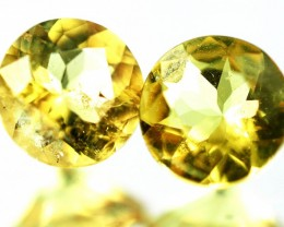 1.16 CTS - CERTIFIED PAIR NATURAL YELLOW BERYL [SAP492]