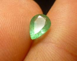 0.77cts  Emerald , 100% Natural Gemstone
