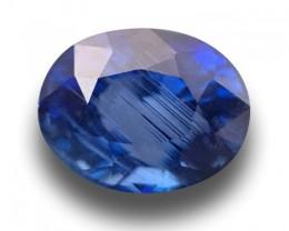 1.78 CTS Natural Medium Blue sapphire |Loose Gemstone|New Certified| Sri La