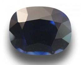 1.18 CTS Natural Medium Dark Blue Sapphire |Gemstone|Certified| Sri Lanka