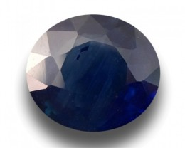 1.8 CTS | Natural Blue Sapphire |Certified | Loose Gemstone | Sri Lanka - N