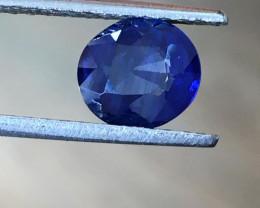1.8 CTS   Natural Blue Sapphire  Certified   Loose Gemstone   Sri Lanka - N