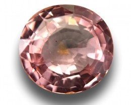1.06 Carats| Natural Unheated padparadscha |Loose Gemstone| Sri Lanka
