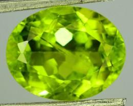 3.45 Ct Untreated Green Peridot