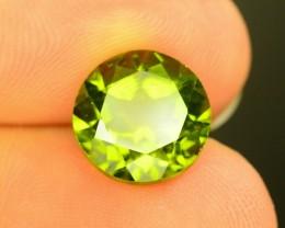 4.90 Ct Natural Flawless Green Peridot~$1200.00