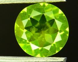 1.60 Ct Untreated Green Peridot