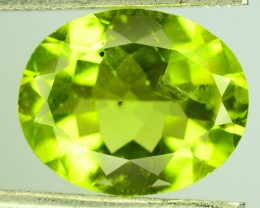 2.80 Ct Untreated Green Peridot