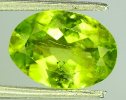 2.25 Ct Untreated Green Peridot