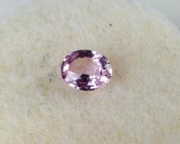 0.41 ct Sapphire - Oval Cut Purplish Pink